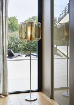 forestier floor lamp 6 bamboo light