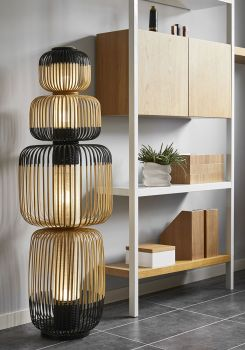 forestier floor lamp 7 bamboo light