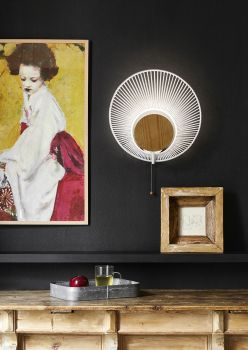 forestier wall lamp 10 oyster