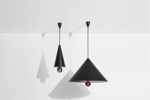 petite friture pendant lamp 7 grande suspension cherry